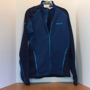 Marmot Calaveras fleece running jacket